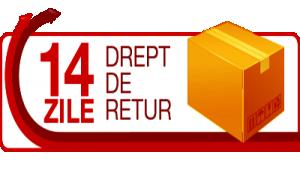 PUTETI RETURNA PRODUSUL IN MAXIM 14 DE ZILE DE LA ACHIZITIONARE
