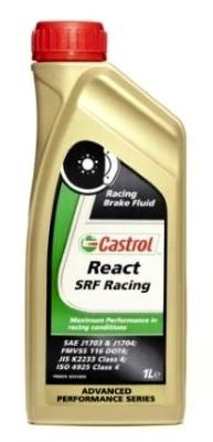 Lichid de frana Dot 4 Castrol React SRF Racing 1L