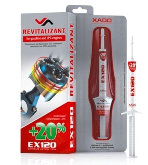REVITALIZANT MOTOR XADO EX 120 PENTRU MOTOARE CU BENZINA SI GPL