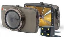 Camera auto DVR Xblitz Dual Core, Full HD, unghi de filmare 170 de grade, senzor G
