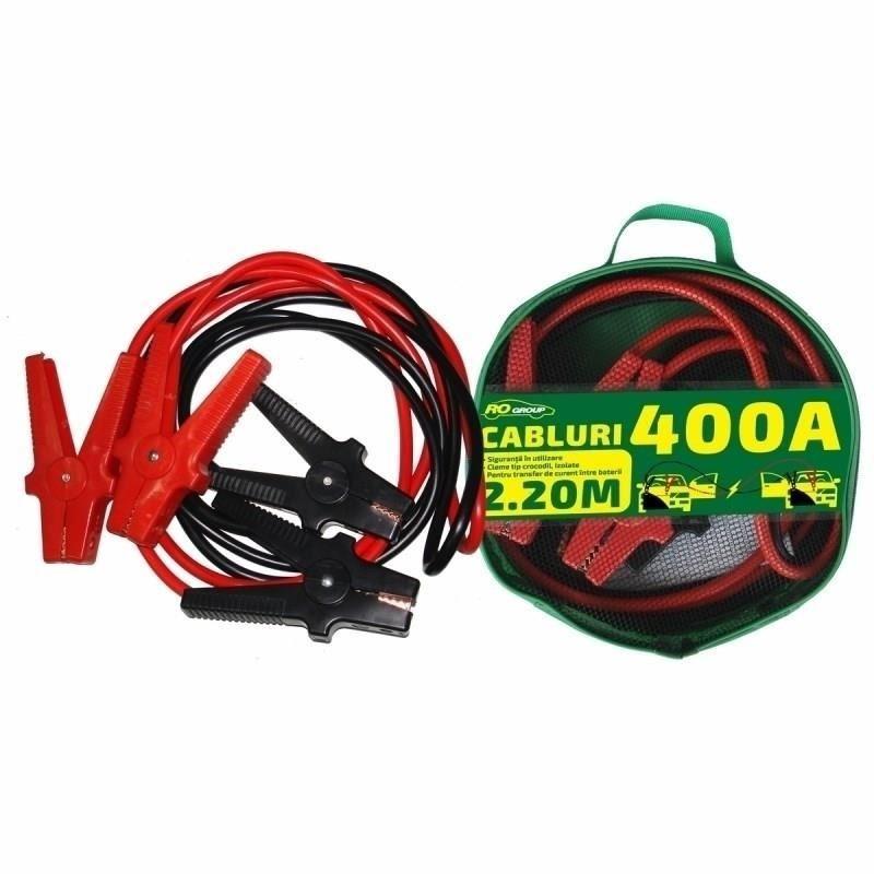 Cabluri pornire auto RoGroup, 400A