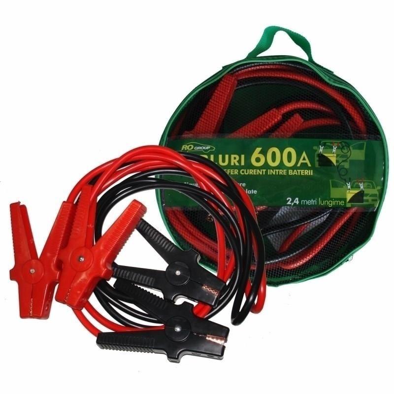 Cabluri pornire auto RoGroup, 600A