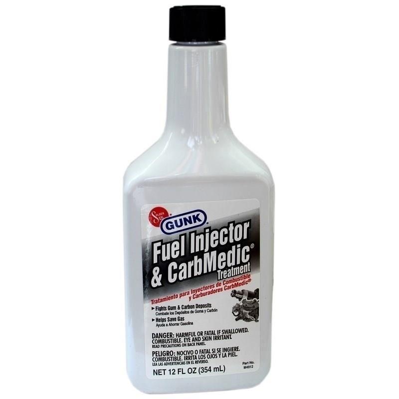 Aditiv benzina pentru curatat injectoare si carburator Gunk, 354 ml