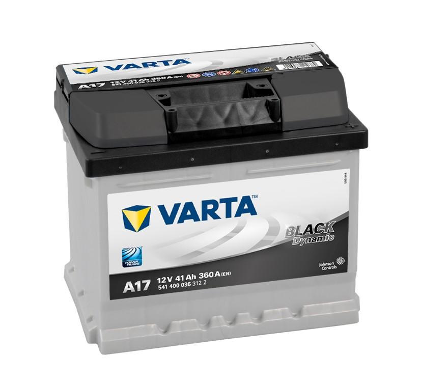ACUMULATOR VARTA BLACK DYNAMIC 41A 207 x 175 x h175mm 360A