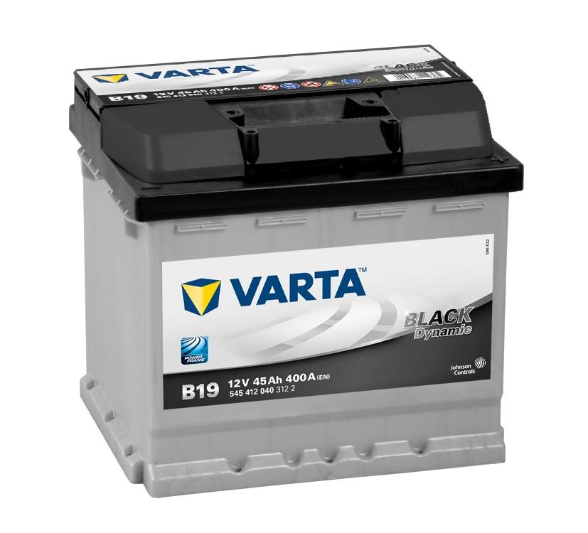 ACUMULATOR VARTA BLACK DYNAMIC 45A 207 x 175 x h190mm 400A