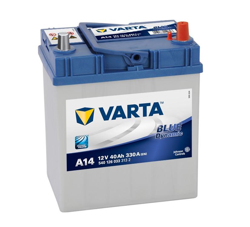 ACUMULATOR VARTA BLUE DYNAMIC 40A 187 x 127 x h227mm 330A