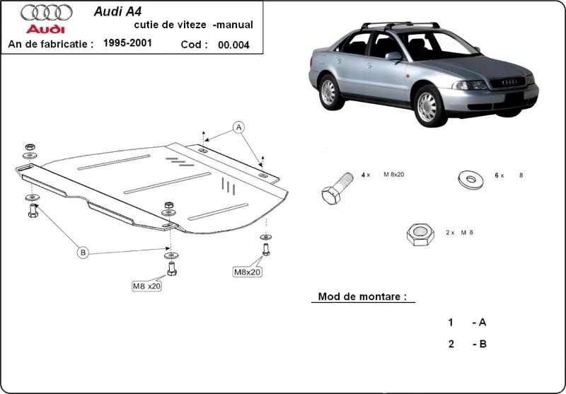 Scut cutie de viteze manuala AUDI A4 1, an 1995-2000